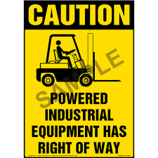 Powered Industrial Equipment Has Right Of Way Floor Sign - OSHA Forklift Operator Safety Ppt Video Online Download Carpenters Traing Fund Of Louisiana Powered Industrial Truck Program Environmental Health And Or Video Youtube Onsite For Only 89 Per Person Occupational And Man Operates A Cargo Loader Controls Lift Truck Fork Truckforklift Online Course Outline Pedestrian Lightswhat Bright Idea