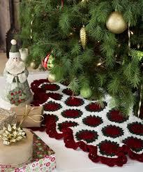 Granny Square Christmas Tree Skirt