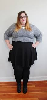 Here I Am Wearing Our Textured Black Skater Skirt Found Love The Length And Material Its Great For Summer But Winter Now