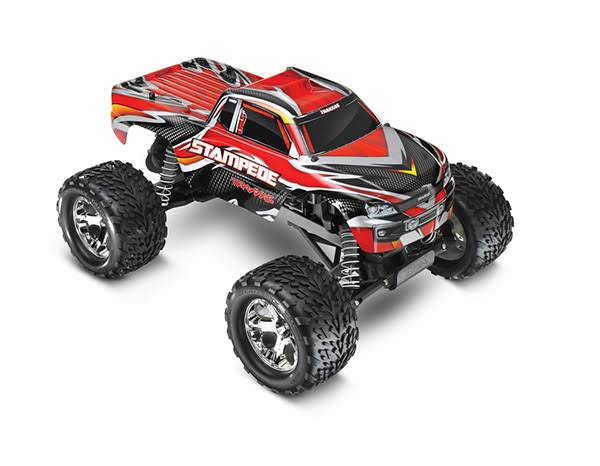 Traxxas Stampede Monster Truck Toy - Red
