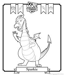 Spookley The Square Pumpkin Coloring Pages by Mike The Knight Colouring Pages Funycoloring