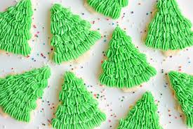 These Christmas Tree Sugar Cookies Have Such A Gorgeous Fir Texture This Recipe Makes