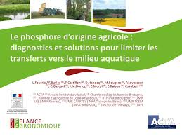 chambre d agriculture de rennes le phosphore d origine agricole diagnostics et solutions pour
