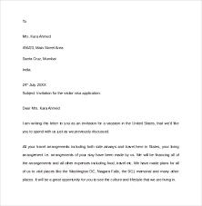 Sample Invitation Letter For Europe Visa Gallery Invitation