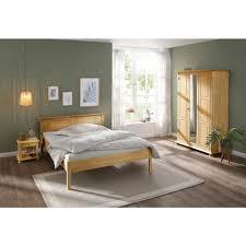 home affaire schlafzimmer set mitu set 3 tlg aus massiver kiefer 3 teilig