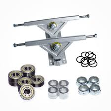 100 Bullet Skateboard Trucks Longboard Upgrade Kit FunBox S