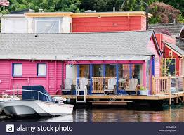 100 Lake Union Houseboat For Sale Colorful Residential Houseboat On The Water On