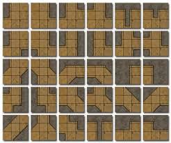 pdf dungeon tile sets for rpg games