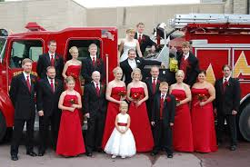 Firefighter Wedding Ceremony Awesome Wedding Party In Front Of Fire ... Inch Of Creativity The Day After 10 Best Firefighter Theme Preschool Acvities Mommy Is My Teacher Fire Truck Cross Stitch Pattern Digital File Instant Wagon Crafts Pinterest Trucks And Craft Bedroom Bunk Bed For Inspiring Unique Design Ideas Black And White Clipart Box Play Learn Every Sweet Lovely Crafts Footprint Fire Free Download Best In Love With Paper Shaped Card Truck