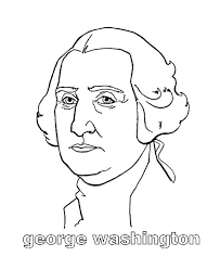 George Washington Was Born In Westmoreland County Virginia Colouring Page Coloring