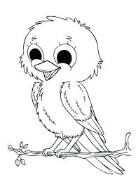 Cute Baby Jungle Animal Coloring Pages 1