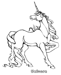 Mythical Animals And Beasts Coloring Page