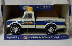Amazon.com : Vintage 1997 Nylint NAPA Sound Machine 4 X 4 Pickup ... Vintage Nylint Metal Dolly Madison Cake Big Rig Truck 21long Hard To Vintage Pickup Truck Cadet Bike Buggy Red Cab 761 Usa 13 U Haul Ford Pick Up Toy And Trailer Ardiafm Chevy Blazer Clean With Uhaul Nice Set Lk 55 Aerial Hook N Ladder 1970s 1989 Sound Machine Fire Water Cannon Nylint Trucks 1830210882 Amazoncom Classics Coal Gravel Steel Muscle Dump Hakes Cadet Camper And Pickup Boxed Truck Pair Speedway Special And 500 Racer For Sale Antique Toys