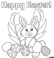 Printable Bunny Coloring Pages