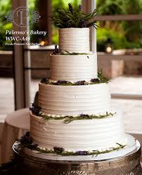 Rustic Garden Buttercream Wedding Cake O Palermos Custom Cakes