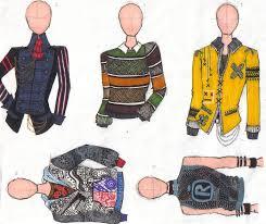 Mens Wear Sketch By IYFreak