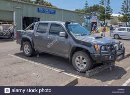 A Four Door Pick Up Truck UTE Utility Vehicle Fitted With Bullbar ...