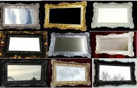 spiegel barock spiegel wandspiegel rechteckig antik
