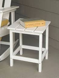 side table polywood 18 target small outdoor side table small