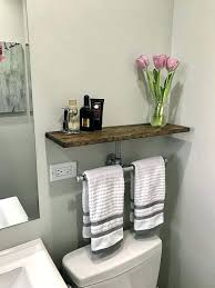 Bathroom Shelf With Towel Bar Wood by Towel Rack Bathroom Bathroom Shelf Towel Rack Wood U2013 Selected