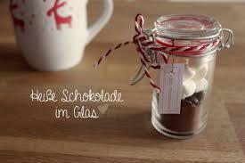 diy heiße schokolade im glas süße geschenke jar