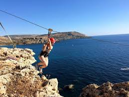 Imagine Standing On The Edge Of A Steep Cliff Looking Down More Than 50m And Below You Is Just Rugged Rock Open Sea