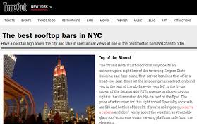 TOP Of The STRAND Roof Top Bar Mhattan Wikiwebdircom Visit These Top 10 Bars In Nyc From Rooftops To The Best Dive Rooftop In Elegrans Real Estate Blog Hudson Hotel New York Hotels Pinterest 5 City Travefy The Absolute 30birthday Grab A Drink At This Igloo Bar Travel Usa America United States North Roof Leisure Cond Nast Traveller 86 Best Around World Images On Cafes