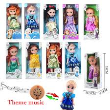 Baby Doll Barbie Princess Bedroom For Disney Frozen Elsa Doll Play