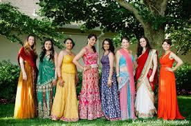 Indian Wedding Bride Bridal Party Fashion Maharaniweddings Gallery