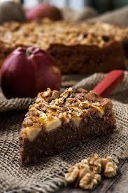 rezept schokoladenkuchen mit äpfeln und walnüssen