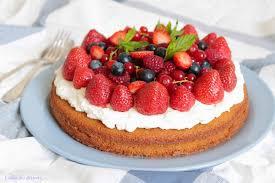 l allée des desserts gâteau aux fruits rouges