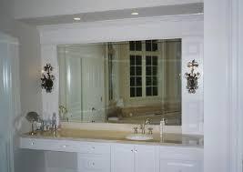 Beveled Bathroom Vanity Simple Mirror