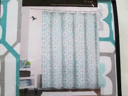 Sweet Jojo Chevron Curtains by Scintillating Grey And Aqua Shower Curtain Gallery Best Idea