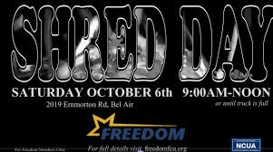 Shred Truck Archives - Freedom Federal Credit Union
