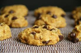 Healthy Chocolate Pumpkin Desserts by Vegan Chocolate Chip Pumpkin Oatmeal Cookies Running With