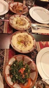 cuisine entr馥s froides entrées froides taboulet houmous caviar d aubergine et