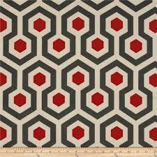 Grey Geometric Pattern Curtains by Premier Prints Magna Timberwolf Discount Designer Fabric