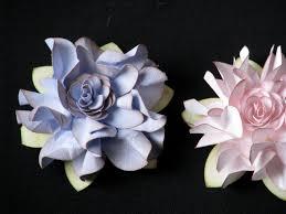 SIMPLY PAPER Elegant Ruffled Flower Tutorial