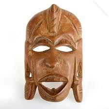 African Kenyan Wooden Mask