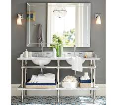 Double Wide Bathroom Mirror Sonoma Width Pottery Barn Mirrors