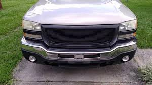 2004 Sierra Grille Installation - YouTube