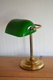 le de bureau opaline verte le de banquier opaline verte opaline vert classique 160379
