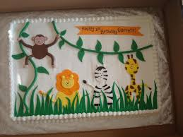 Baby Shower Safari Cakes