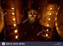 100 Wine Room Lighting Barrique Wooden Vats Or Casks In Romantic Candle Light In
