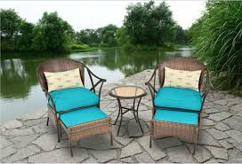 Mainstays Patio Furniture Manufacturer by Amazon Com Outdoor Patio Furniture 5 Piece All Weather Wicker