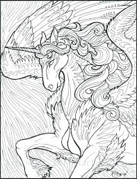 Free Printable Unicorn Coloring Pages For Adults Online Fairy