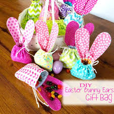 Diy Project Ideas Bunny Ears Gift Bag Kid Craft Christmas Pinterest