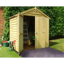 4x6 Wood Storage Shed by Wooden Garden Sheds Buy Online Today