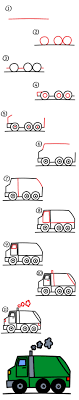 How To Draw A Garbage Truck - Art For Kids Hub - Step 11 How To Draw A Truck Tattoo A Pickup By Trucks Rhdragoartcom Drawing Easy Cartoon At Getdrawingscom Free For Personal Use For Kids Really Tutorial In 2018 Police Monster Coloring Pages With Sport Draw Truck Youtube Speed Drawing Of Trucks Fire And Clip Art On Clipart 1 Man