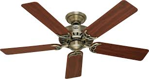 Brushed Nickel Ceiling Fan Amazon by Hunter 53040 Summer Breeze 52 Inch 5 Blade Ceiling Fan Antique